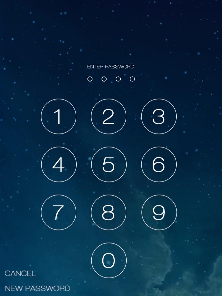 ios 7 lock screen demo gshelper com