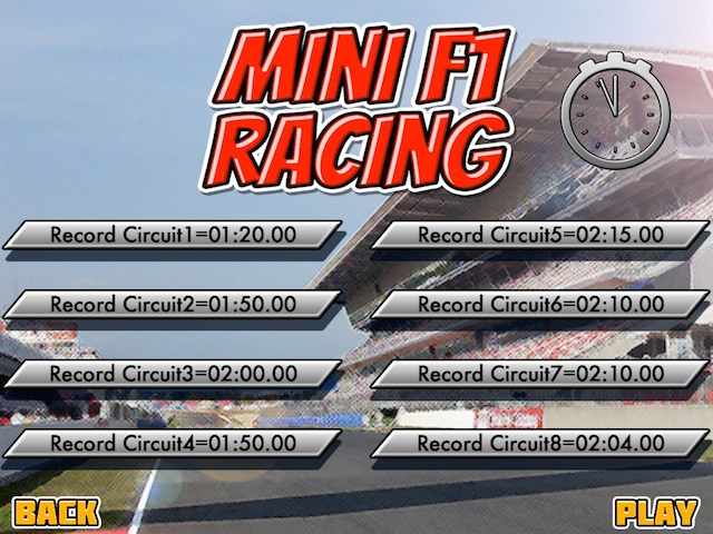Mini F1 Racing New