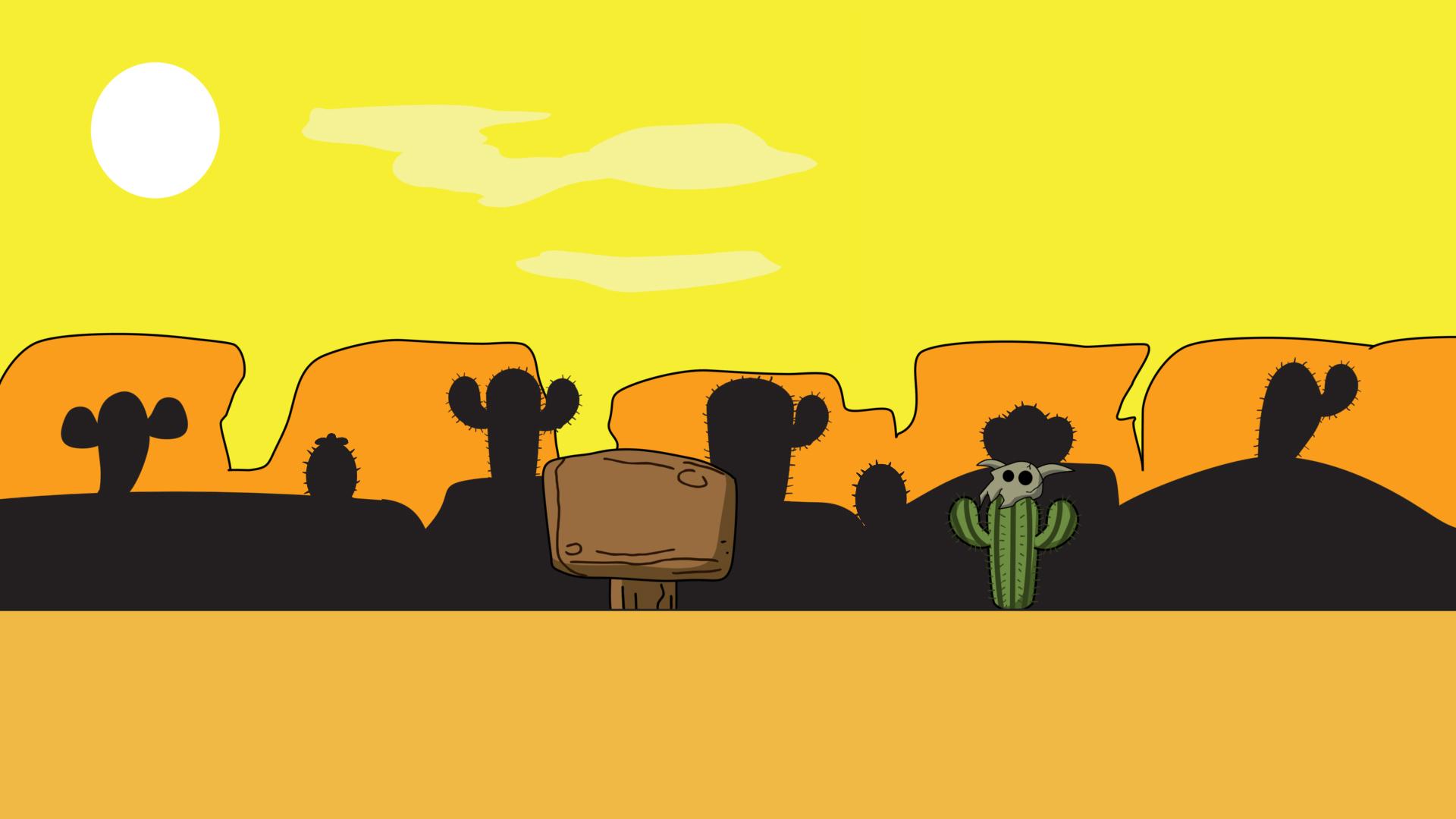 Cartoon Desert Background Gshelper Com