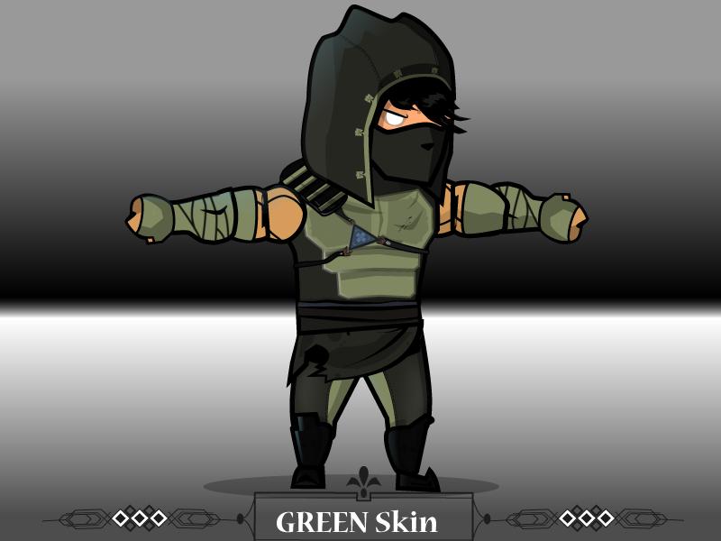 dark thief 2d platformer character sprites gshelper com